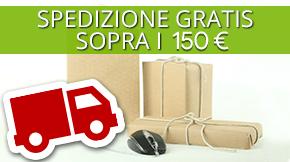 Spedizioni Gratis sopra i 150€
